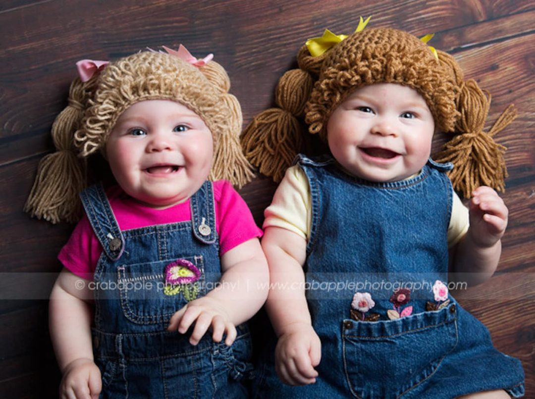 Cabbage patch Halloween costume for siblings