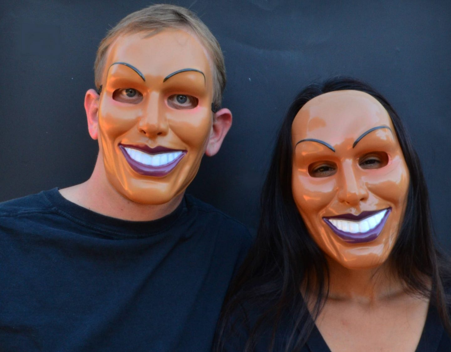 Scary the purge Halloween costumes for couples