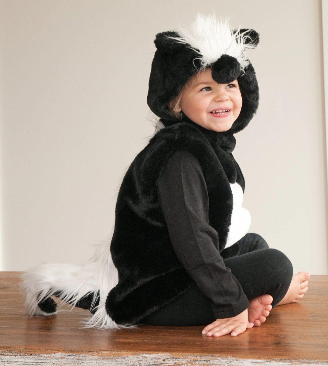 Skunk costume for kids