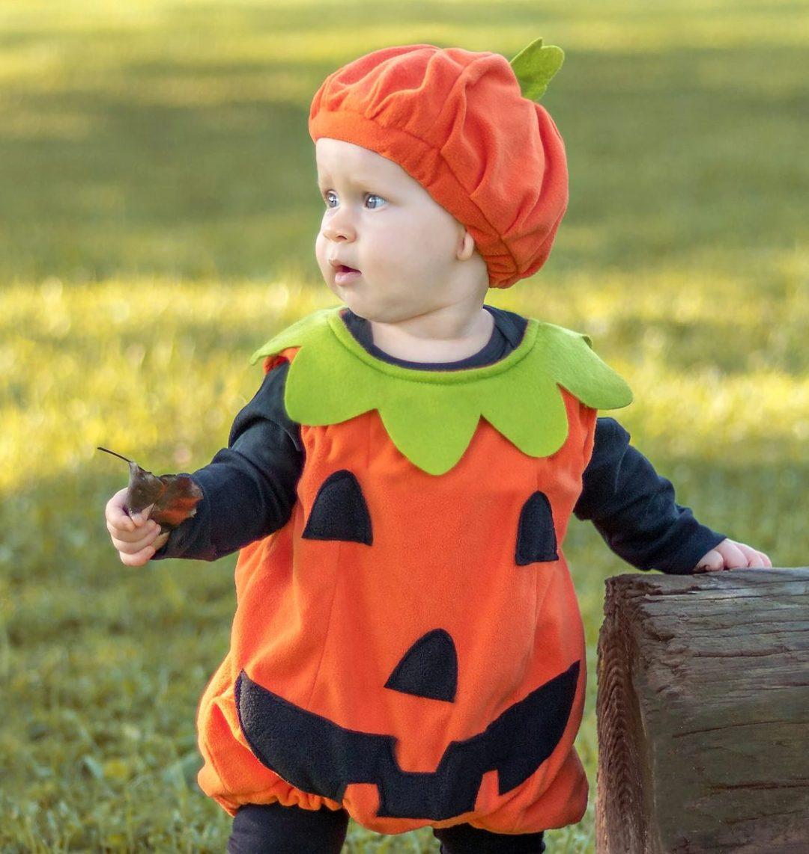 Baby pumpkin Halloween costume