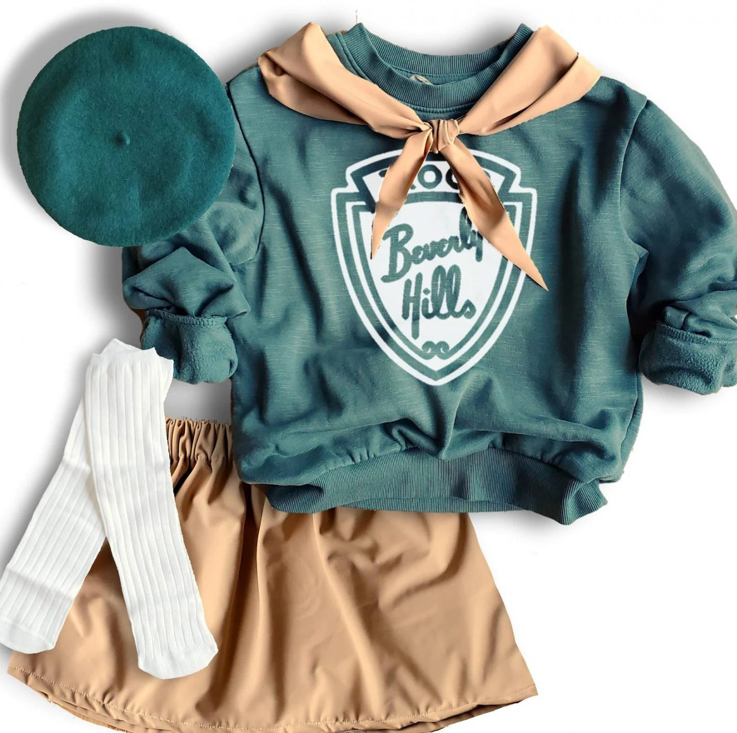 Girl scouts costume for toddlers