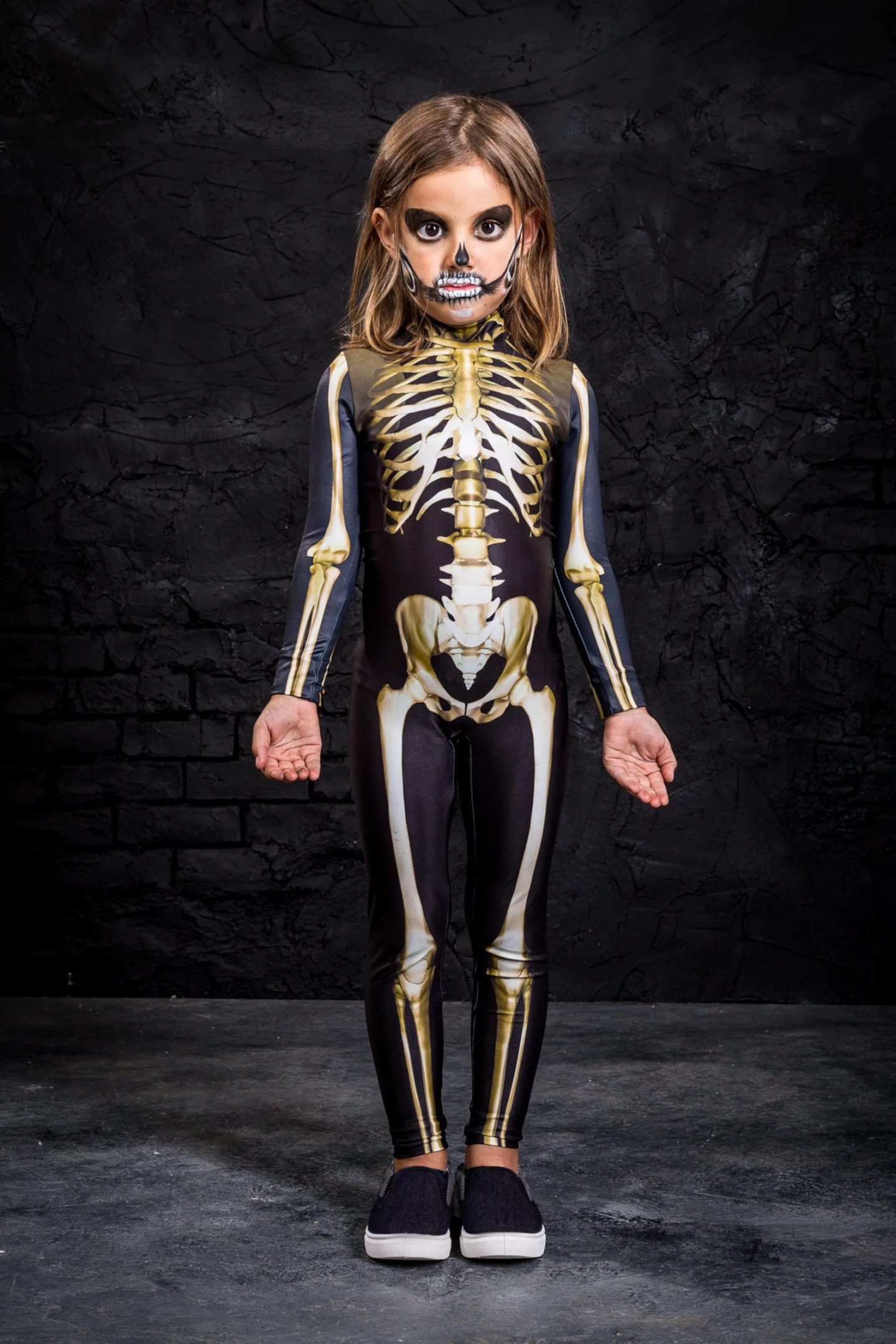 Skeleton Halloween costume for toddlers