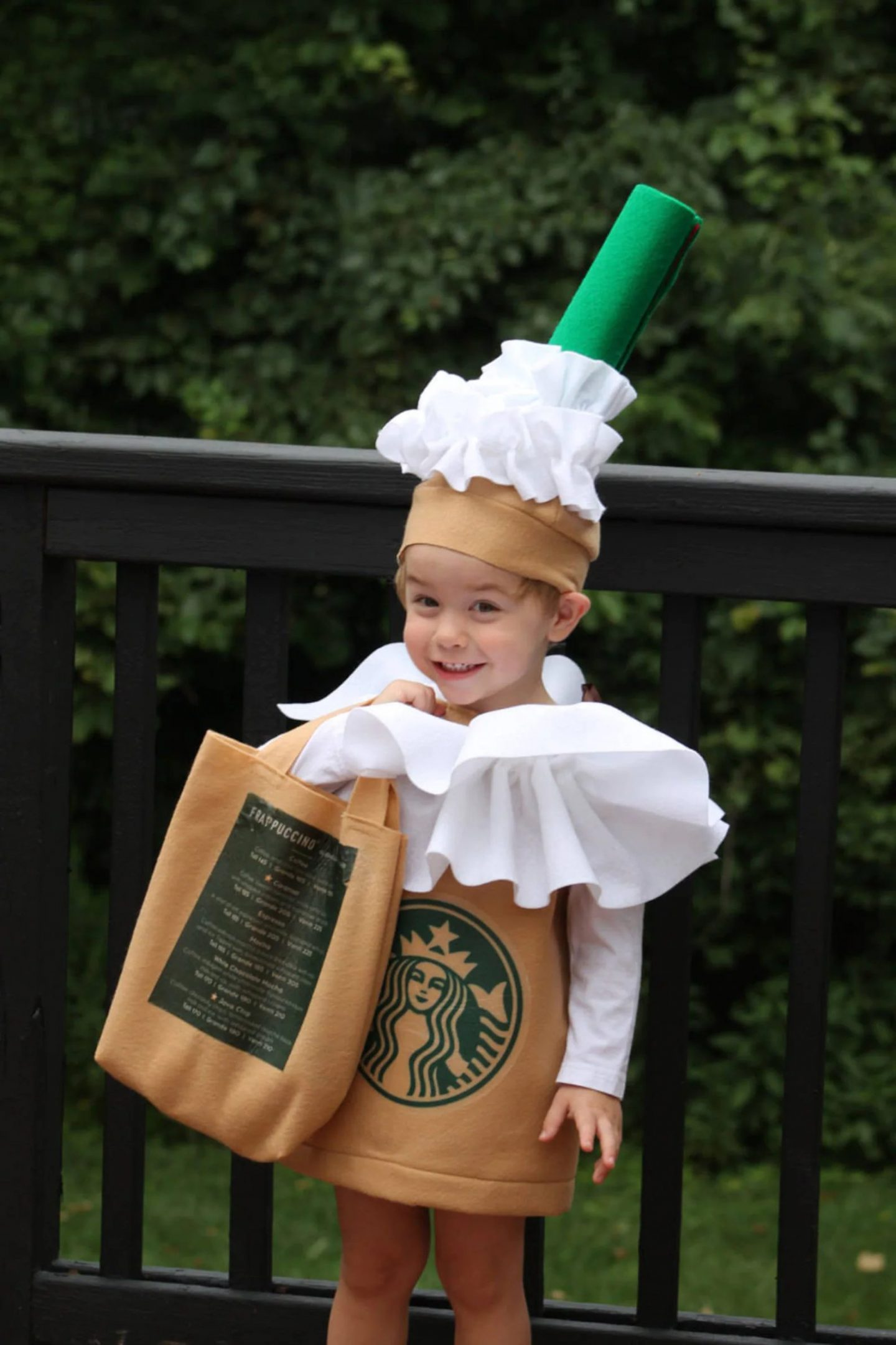 Starbucks Frappuccino costume for toddlers