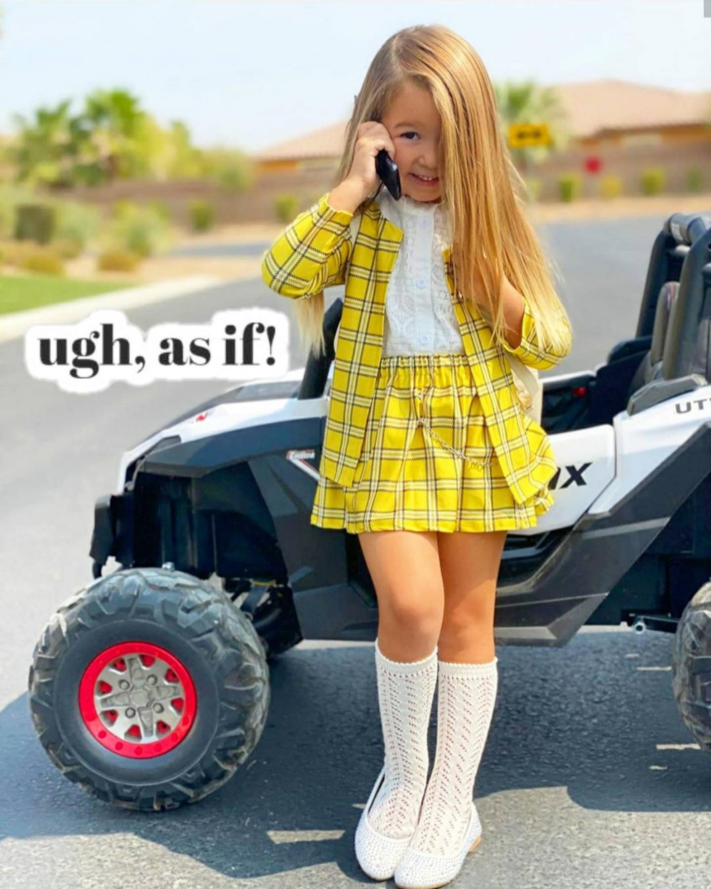 Cher from Clueless Halloween costume for toddlers