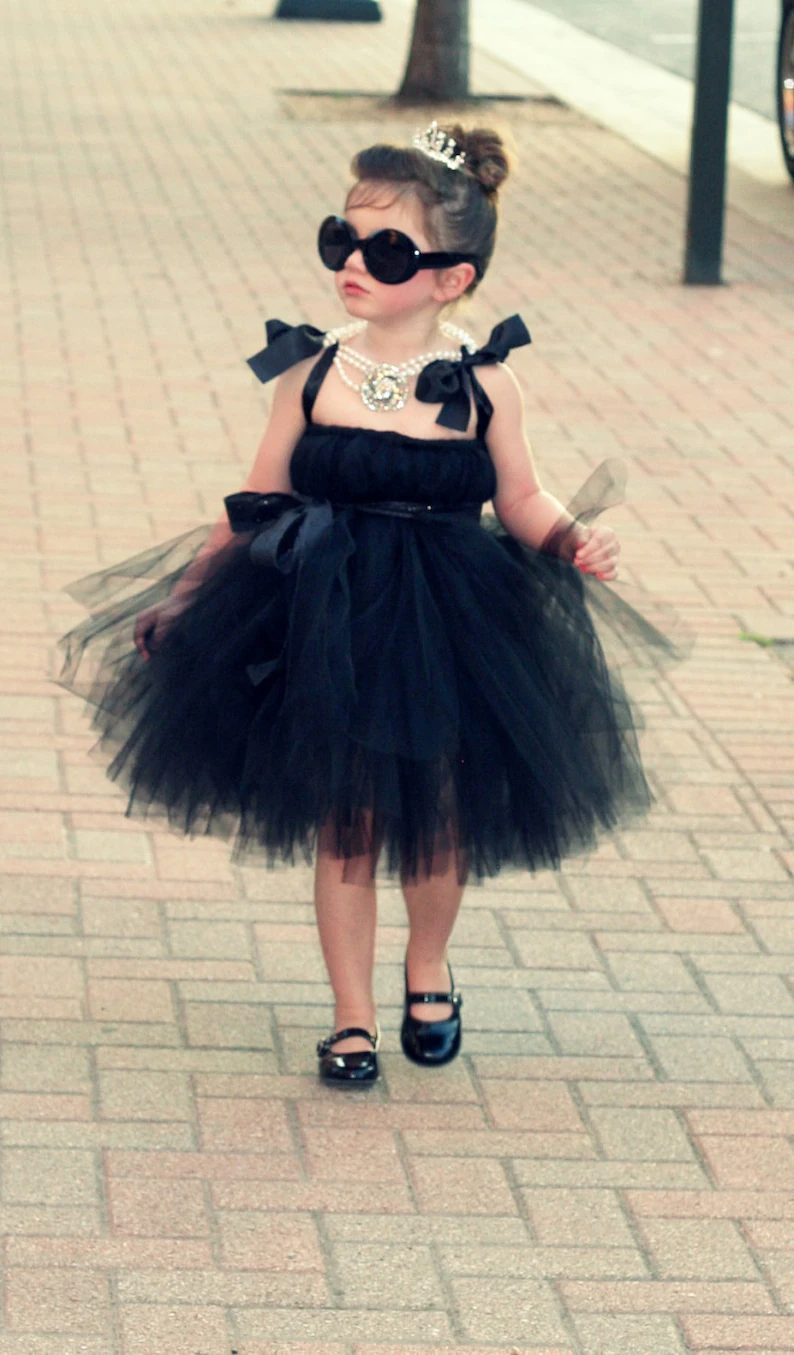 Audrey Hepburn Breakfast At Tiffany's costume for toddlers