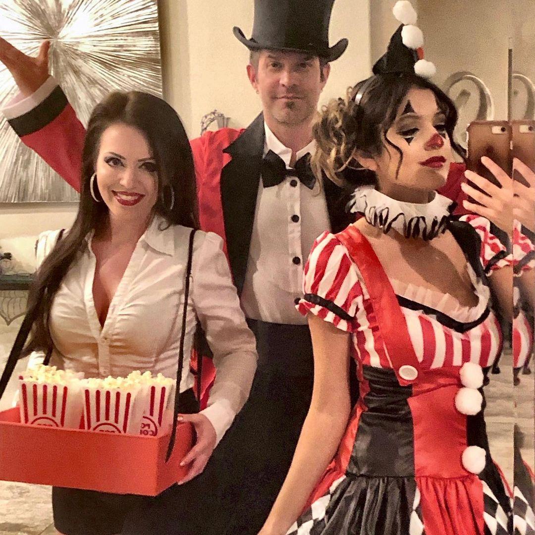 Circus trio Halloween costume