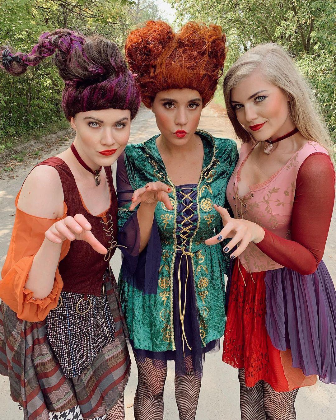 Hocus Pocus for Best Trio Halloween Costumes