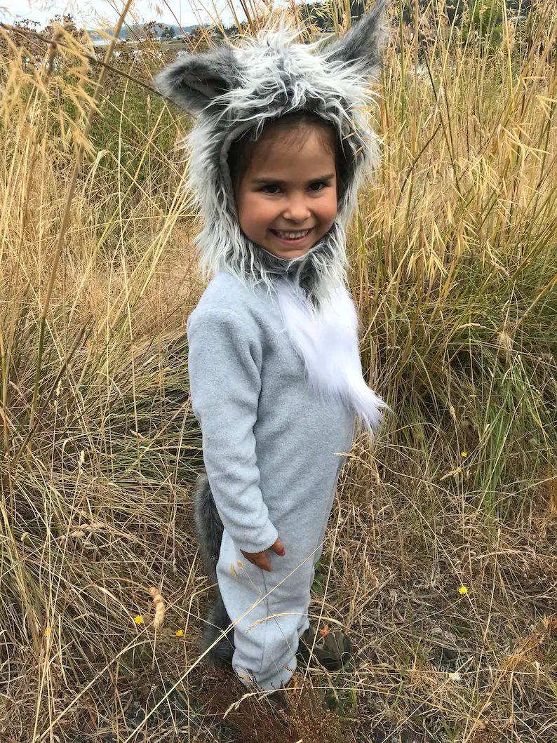 Big bad wold Halloween costume for boys