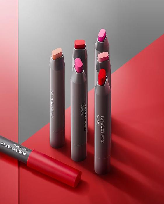 The Face Shop Flat Velvet Lipstick