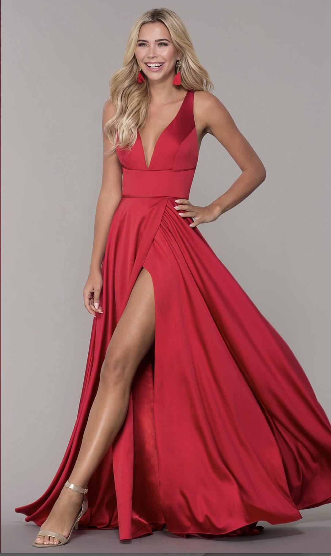 Best red formal dresses like Lulus