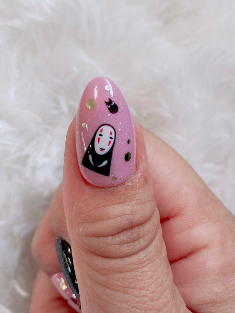 45 Badass Anime Nails For The Ultimate Fan