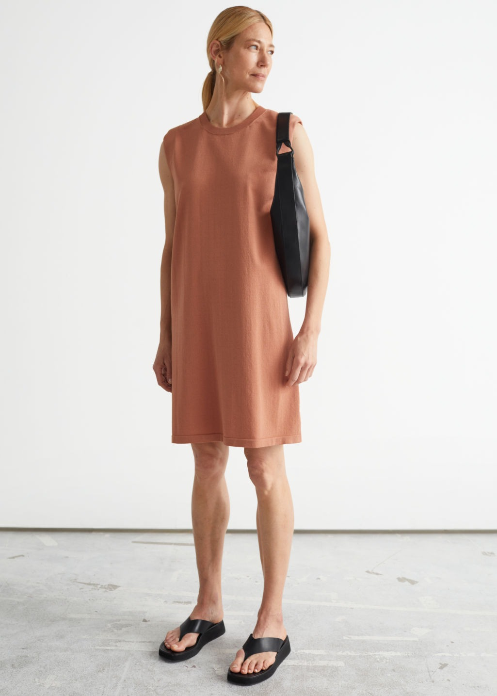 Terracotta dress