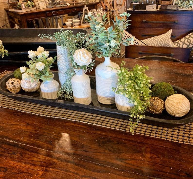 Wooden Thanksgiving centerpiece