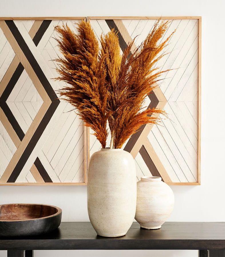 Rustic Pampas Grass Centerpiece