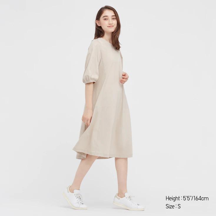 Basic cream dress