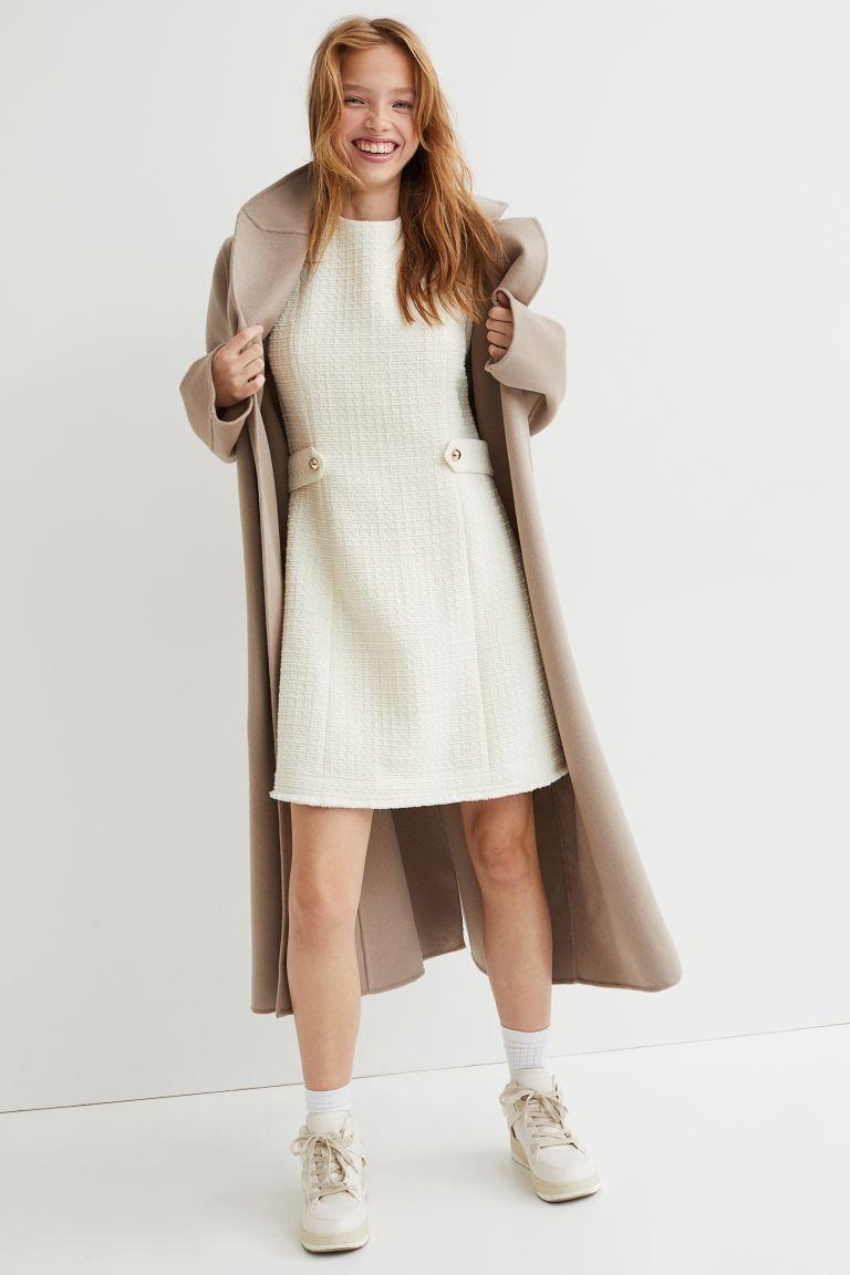 Cream dress from H&M