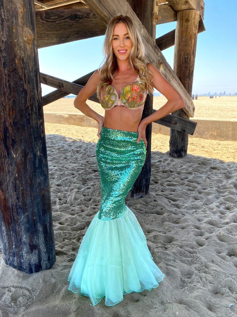 Cute mermaid Halloween costume for women