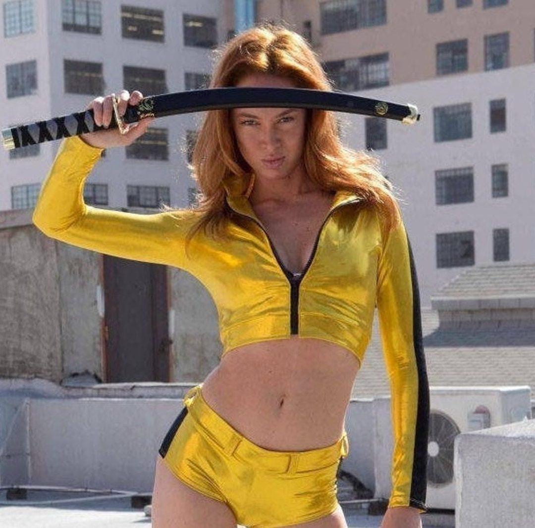 Hot Kill Bill Halloween costume for women
