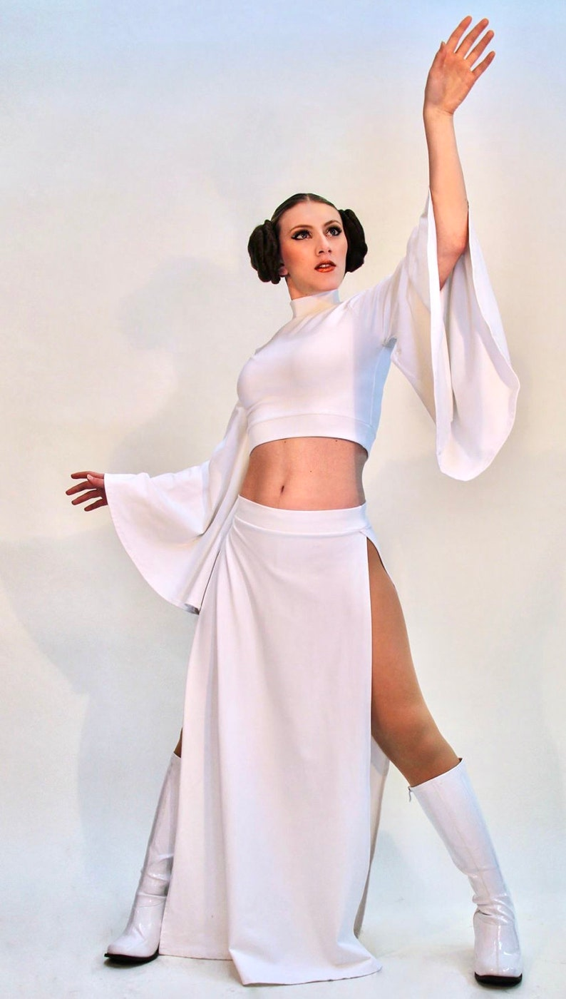 Hot princess Leia Halloween costume for women