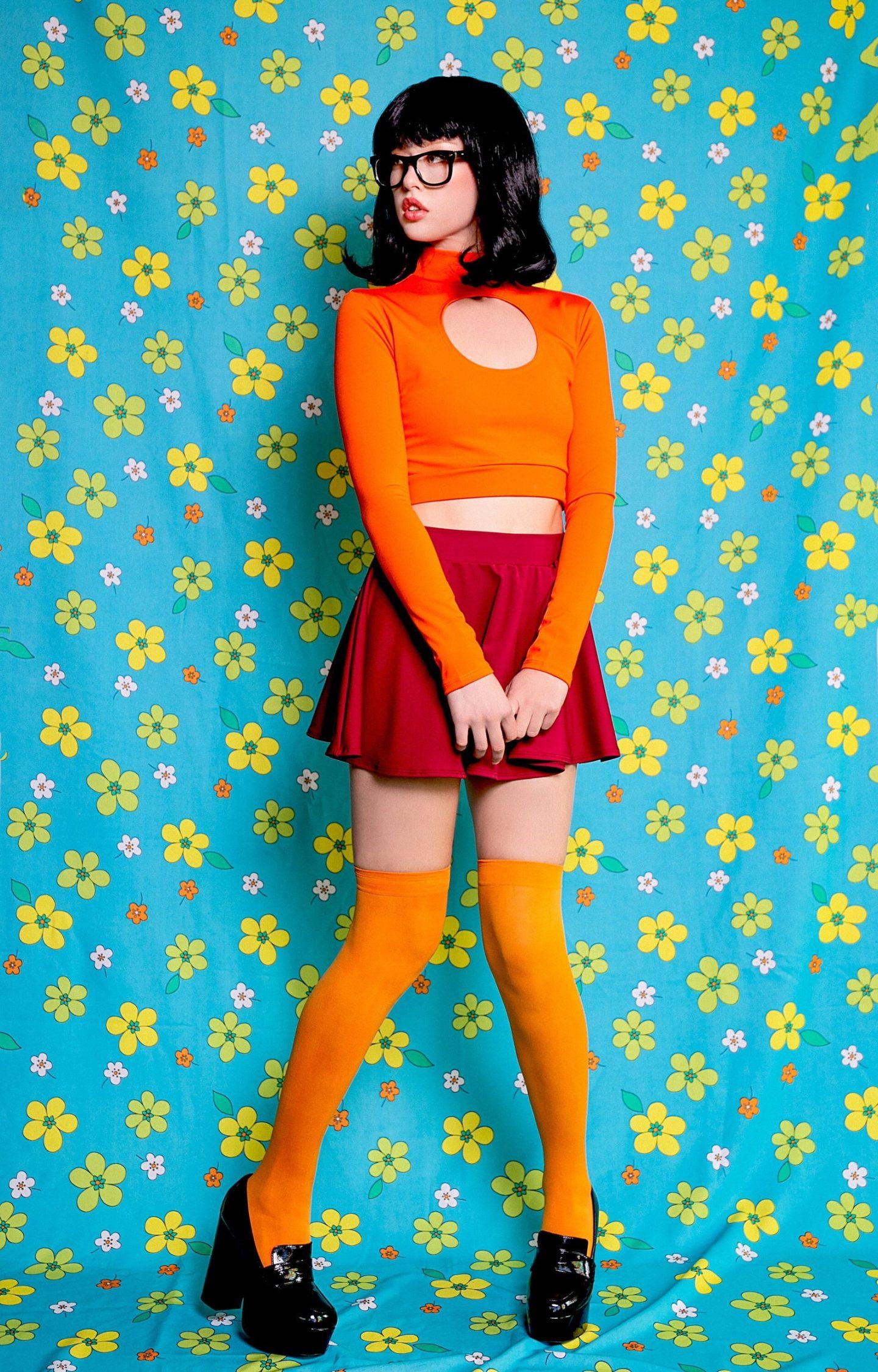 Hot Velma Halloween costume for women